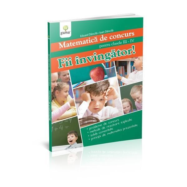 Aceast&259; carte de înv&259;&539;&259;tur&259; se adreseaz&259; cu prec&259;dere acelor copii pentru care matematica a devenit deja un instrument cu ajutorul c&259;ruia exploreaz&259; &537;i în&539;eleg lumea nu doar un joc cu reguli abstractePrima parte a volumului se concentreaz&259; asupra metodelor &537;i principiilor ce trebuie aplicate pentru rezolvarea corect&259; a problemelor de matematic&259; Încrez&259;tor în