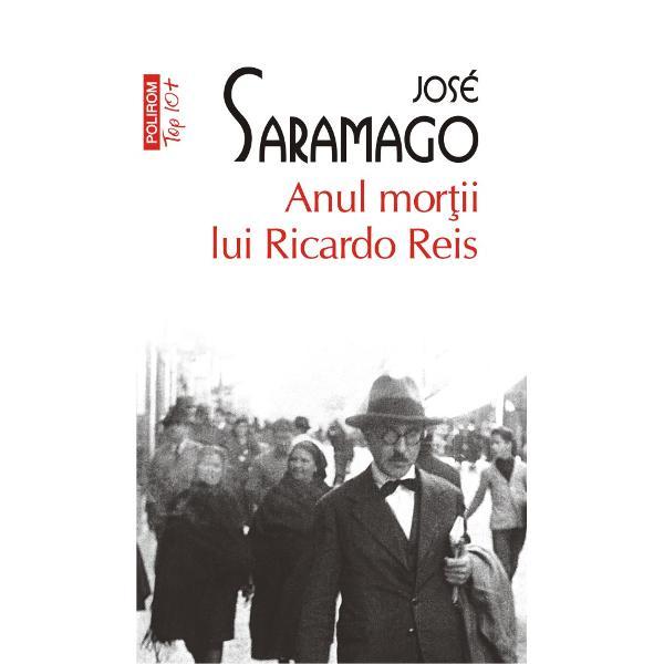Premiul Nobel pentru Literatur&259; 1998Ricardo Reis s-a întors în Lisabona pentru înmormîntarea prietenului s&259;u poetul Fernando Pessoa Au trecut &351;aisprezece ani în care a practicat medicina în Brazilia iar acum bate str&259;zile sc&259;ldate de ploi Ar vrea s&259; fie cu Marcenda c&259;reia-i compune o od&259; îns&259; face dragoste cu o camerist&259; de la hotel Lídia Spectrul