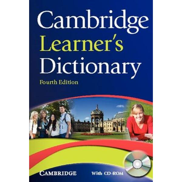 A new edition of the acclaimed Cambridge Learners Dictionary fully updated to include new words and English Vocabulary Profile levels Key Features Updated with new words eg social networking cybercrime geo-engineering carbon offsetting English Vocabulary Profile levels mark the essential vocabulary that students need to know The dictionary has been revised and updated throughout Over1000Word
