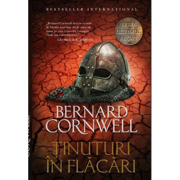 &354;INUTURI &206;N FL&258;C&258;RI este al cincilea roman din seria de succes Ultimul regat scris&259; de Bernard Cornwell o cronic&259; a istoriei Angliei de la &238;nceputurile sale &8222;la fel de captivant&259; ca Urzeala tronurilor dar inspirat&259; din evenimente reale&8220; The Observer serie care a stat la baza unui excep&355;ional serial de televiziune realizat de BBCESTE OMUL DE &206;NCREDERE al regelui Alfred A c&226;&351;tigat bog&259;&355;ii &351;i-a