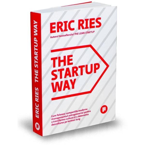 """Odat&259; cuThe Lean Startup bestsellerul s&259;u vândut în milioane de exemplare Eric Ries a lansat o mi&537;care global&259; Concepte precum """"produsul minim viabil"""" """"testarea AB""""&537;i """"pivotarea"""" au schimbat limbajul afacerilor Acum autorul se adreseaz&259; companiilor de toate dimensiunile &537;i ne arat&259; cum poate mi&537;carea startup s&259; revitalizeze chiar &537;i cele mai mari"""