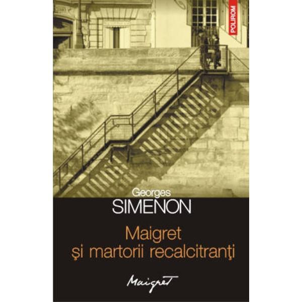 Traducere de Nicolae Constantinescu Al 63-lea volum din seria Maigret Leonard Lachaume directorul unei vechi fabrici de biscuiti prea putin rentabile este asasinat noaptea in camera sa in locuinta familiei de pe Quai de la Gare Ivry Chemat la fata locului comisarul Maigret este intimpinat cu raceala de fratele victimei Armand Primele indicii par sa sustina ipoteza unui jaf in timp ce membrii familiei spun ca nu au auzit si nu stiu nimic Maigret afla insa ca acestia traiesc din