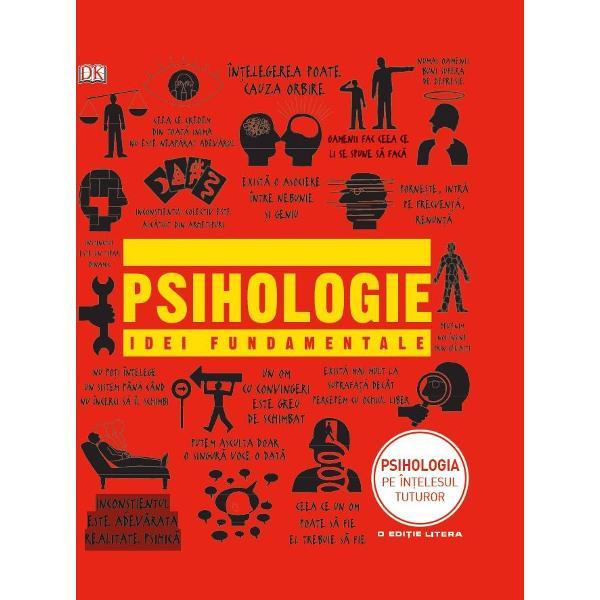Suntem cu adevarat unici sau doar ne conformam unor tipare Ce ne face sa ne reamintim si de ce uitam Cum putem masura efectiv inteligenta Intrebari de genul acesta stau la baza activitatii celor mai importanti ganditori si cercetatori internationali din fascinantul domeniu al psihologiei Scris intr-un limbaj accesibil Manualul de psihologie abunda in explicatii concise care lamuresc jargonul in diagrame care descurca itele teoriilor incurcate in citate memorabile si in ilustrat