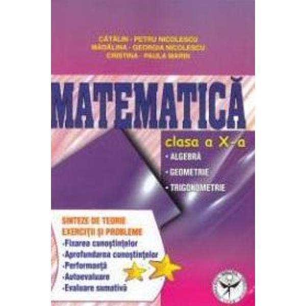 Matematica clasa X Exercitii si probleme