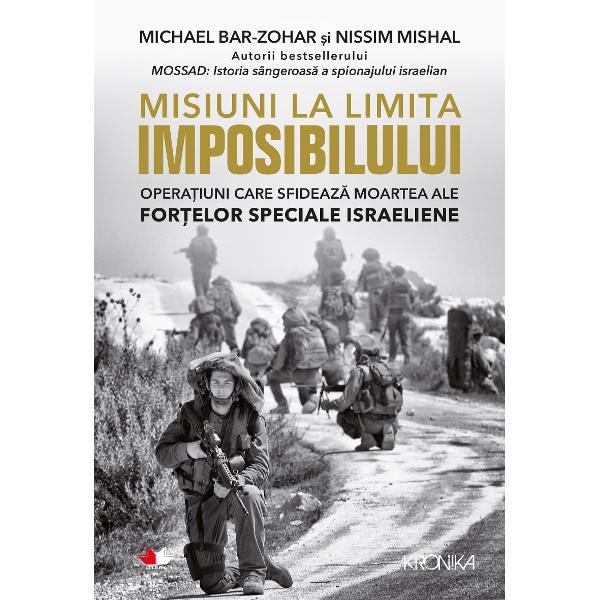O continuare exploziv&259; a c&259;r&539;ii scrise de Michael Bar-Zohar &537;i Nissim Mishal despre cele mai memorabile misiuni ale Mossadului Misiuni la limita imposibilului aduce la lumin&259; cele mai dificile &537;i mai periculoase opera&539;iuni ale For&539;elor Speciale Israeliene&206;n Misiuni la limita imposibilului Michael Bar-Zohar &537;i Nissim Mishal descriu &238;n detalii fascinante cele mai importante b&259;t&259;lii raiduri &238;n teritoriile inamice &537;i