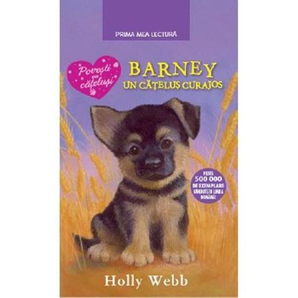 Daisy merge pentru prima oara in vacanta cu cortul si in camping se ataseaza de un pui de ciobanesc german pe care il numeste in secret Barney Cand concediul familiei se apropie de sfarsit gandul despartirii de noul prieten o amaraste pe Daisy care viseaza sa-l ia pe Barney acasa Oare cum i-ar putea convinge pe parintii ei sa i-l daruiascaPRIMA MEA LECTURA Aceasta colectie este dedicata tinerilor cititori pasionati de lectura Textele ilustrate si adaptate la nivelul de