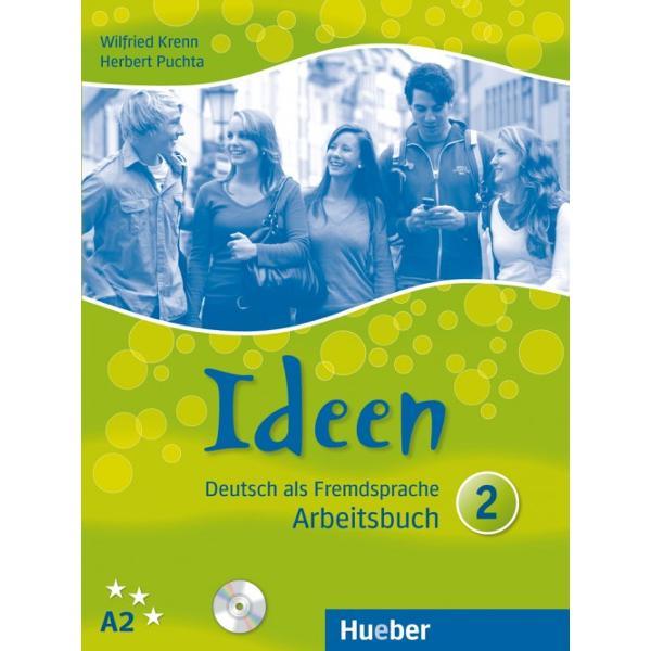 Arbeitsbuch mit 2 Audio-CDs zum ArbeitsbuchDas Arbeitsbuch dient zum selbstständigen Üben und Vertiefen des Lernstoffs im KursbuchIdeenEs gibt Übungsteile zur Textarbeit zu Grammatik und Wortschatz zur Aussprache zu alltagssprachlichen Wendungen sowie ein Fertigkeitentraining zu den Fertigkeiten Hören Lesen und SchreibenNach jedem Modul befindet sich ein Modul-Test mit der Möglichkeit