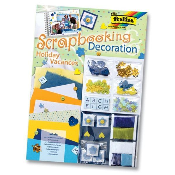 Setul contine albumul pentru scrapbook si accesorii necesare pentru decorarea acestuia Dimensiune album 305x305 cm