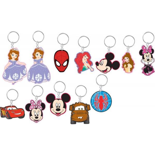 Breloc Disney si MarvelSofia intai Mickey Mouse Minnie Mouse Fulger McQueen si Spiderman sunt doar cateva dintre personajele reprezentate de Brelocurile Disney si Marvel pe care le puteti atasa de chei sau geantaFiecare model poate fi un accesoriu dragut care va fi alaturi de dumneavostra ori de cate ori iesiti din casaPret per
