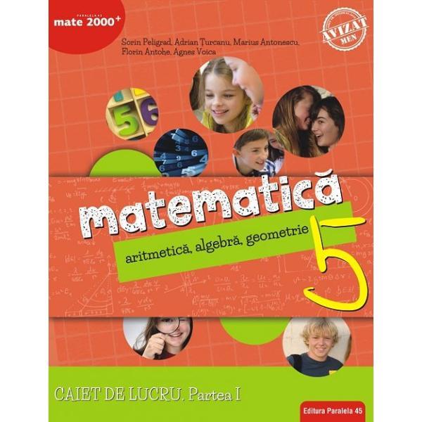 Avizat MEN conform OM nr 30228012018Cea mai popular&259; &537;i mai longeviv&259; colec&539;ie de matematic&259; din Rom&226;nia MATE 2000 a Editurii Paralela 45 reprezint&259; de mai bine de dou&259; decenii suportul num&259;rul 1 de &238;nv&259;&539;are a matematicii pentru majoritatea elevilor din &238;nv&259;&539;&259;m&226;ntul preuniversitar at&226;t pentru activit&259;&539;i matematice standard de consolidare &537;i