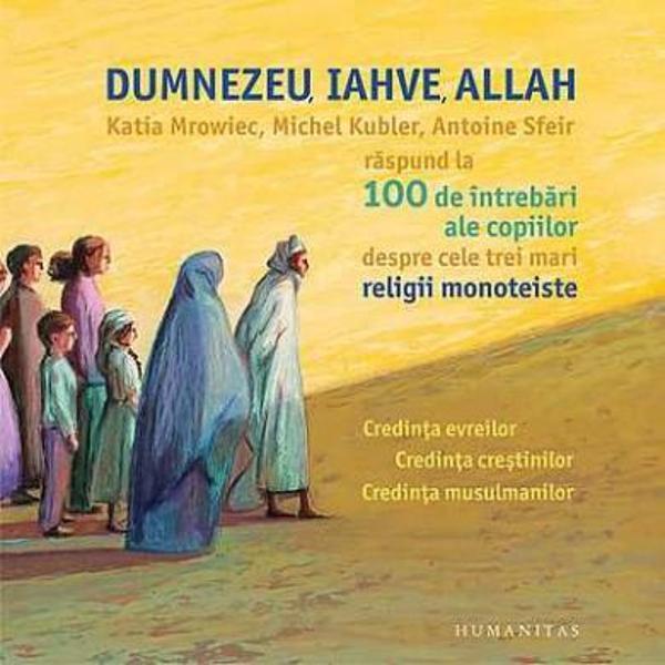 Printre marile religii ale lumii exist&259; trei care predic&259; credin&355;a &238;n&173;tr-un singur Dumnezeu iudaismul cre&351;tinismul &351;i islamul Acestea s-au dezvoltat de-a lungul secolelor precum ramurile maiestuoase ale unuia &351;i aceluia&351;i copac Fiecare dintre ele are propriile reguli propriile gesturi propriile rug&259;ciuni propriile s&259;rb&259;tori adesea destul de greu de &238;n&355;eles &206;n cartea de fa&355;&259; sunt adunate
