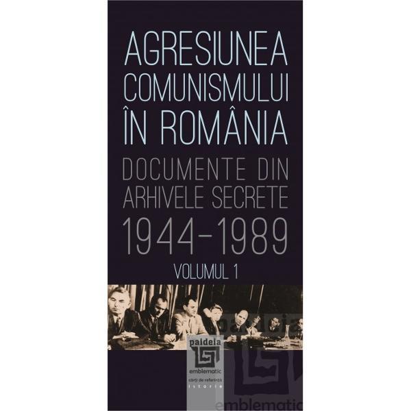 Agresiunea comunismului &238;n Rom&226;nia este un volum de documente alc&259;tuit de Gh Buzatu &537;i Mircea Chiri&539;oiu menit s&259; ilustreze adev&259;rata istorie a acestei stranii &537;i triste jum&259;t&259;&539;i de secol