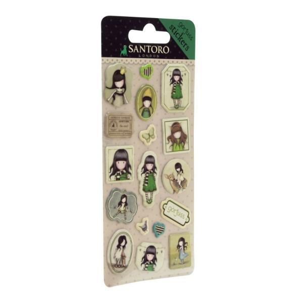 Set stickere Gorjuss The ScarfSetul stickere Gorjuss The Scarf sunt perfecte pentru a decora si personaliza orice articol&160;preferatDimensiune&160;18x8x03 cm