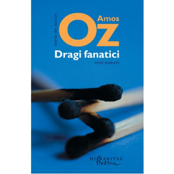 Amos Oz readuce în discu&539;ie un subiect sensibil &537;i anume acela al fanatismului fie el politic religios ori na&539;ionalist De multe ori acest fenomen întâlnit în contexte diferite poate fi dificil de recunoscut ca atare deghizându-se &537;i luând forma celor mai bune inten&539;ii Tocmai de aceea este de p&259;rere Oz trebuie s&259; avem ochii deschi&537;i în permanen&539;&259; &537;i s&259; ne stabilim în minte