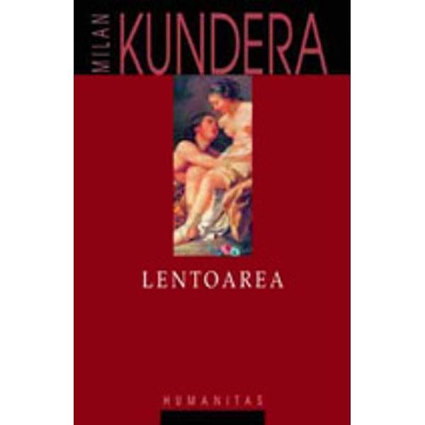 """Lentoarea este primul roman scris de Milan Kundera direct in franceza Subiectul lui este de altfel """"frantuzesc"""" Cu toate acestea critica pariziana i-a rezervat o primire mai curand rece Poate fiindca gratia si virtuozitatea cu care reconstituie amestecand planurile temporale un vodevil din secolul al XVIII-lea francez sunt contracarate de sarcasme la adresa intelighentiei pariziene contemporane Lentoarea este marturia unui spectator consternat dar nu lipsit de reactie in"""