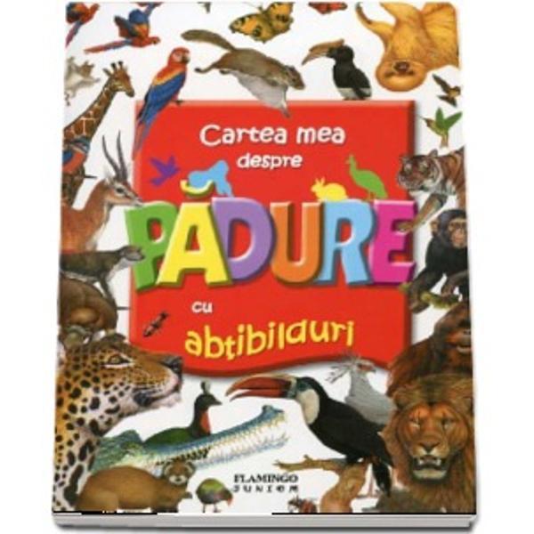 Distreaza-te cu aceasta carte Cauta abtibildurile aseaza-le la locul lor si descopera cateva dintre animalele care traiesc pe planeta noastra