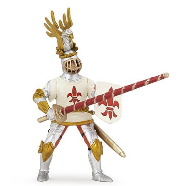 Optezi pentru acest Cavaler pregatit de lupta Figurina Cavaler Crin alb are un corespondent fara de care nu se poate deplasa Un cavaler are intotdeauna nevoie de calul sau Completeaza setul adaugand la colectia ta alaturi de Cavalerul Crin alb calul sau cod articol P39789Dimensiuni 5 x 11 x 2 cm
