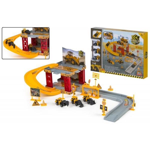 Jucarie copii - set cu masini constructiiDimensiune cutie&160;37 x 55 x 28 cm