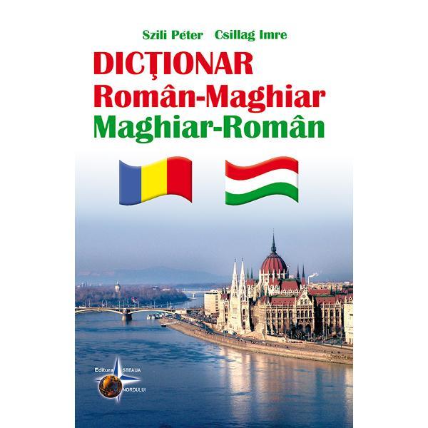 Acest dictionar a fost intocmit pentru a sprijini invatarea limbii maghiare In acest sens lucrarea pe care v-o recomandam are un caracter accesibil fara ca prin aceasta sa fie eliminate anumite aspecte fundamentale ale limbii maghiareLa intocmirea acestui dictionar s-a tinut seama de criteriul frecventei astfel incat cuvintele-cheie si expresiile selectate sa acopere sfera conversatiilor de zi cu zi si sa poata fi traduse cu usurinta in limba maghiara
