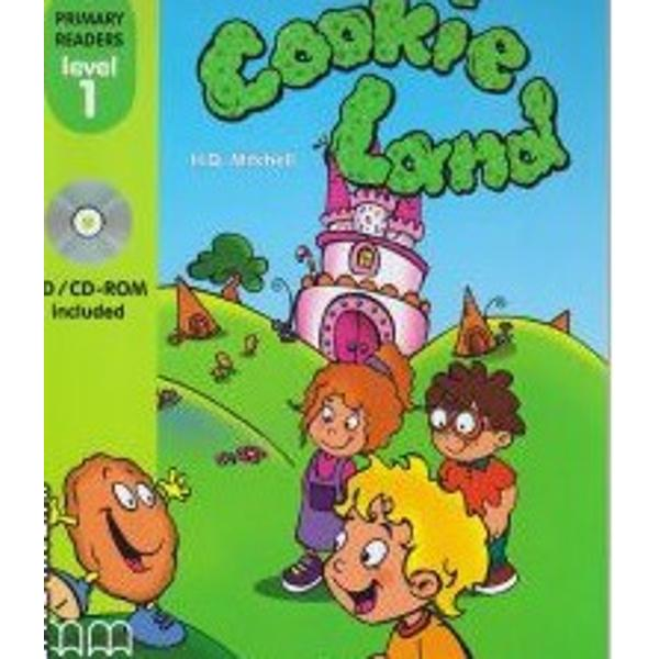 Level 1 reader- Cookie Land - by H Q MitchellHeadwords 85Join Ricky Lulu and Sam as they journey to Cookie Land to save the cookie population from the terrifying Big Mouth
