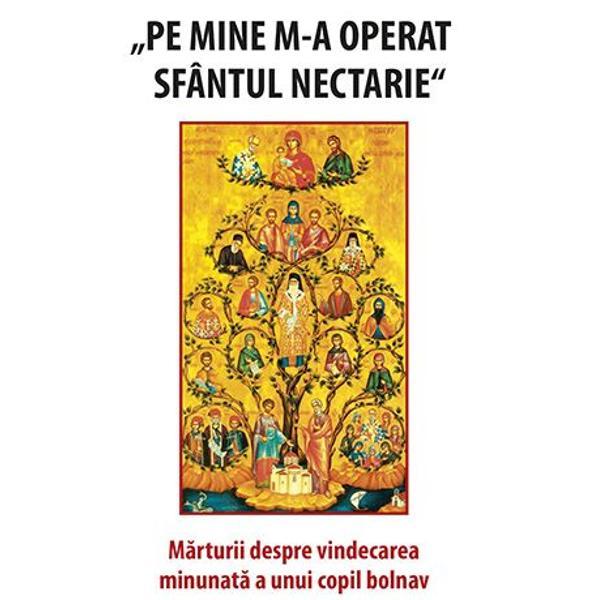 Minunea pe care SfantuI Ierarh Nectarie a savar&537;it-o cu micu&539;ul Ioan Casian Farca&537; este una autentica Ea depa&537;e&537;te cu mult categoria intamplarilor vie&539;ii in care putem descifra ajutorul dumnezeiesc incontestabil dar totu&537;i comun cotidian Din ea putem extrage mai multe inva&539;aturi despre legile care guverneaza via&539;a duhovniceasca concluzii foarte utile pentru mantuirea fiecaruia dintre noi Bunul Dumnezeu ne trimite incercarile