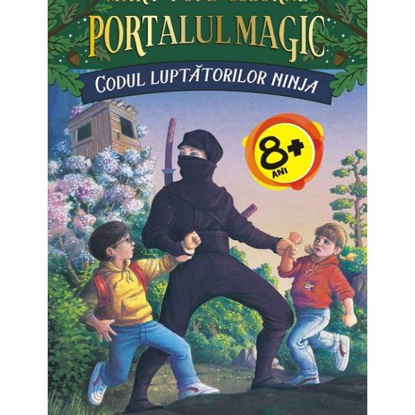 Seria PORTALUL MAGIC Jack &537;i sora lui mai mic&259; Annie c&259;l&259;toresc în timp &537;i spa&539;iu dintr-o c&259;su&539;&259; secret&259; plin&259; cu c&259;r&539;i descoperit&259; într-un copac fabulos Fiecare carte deschis&259; îi face s&259; treac&259; printr-un portal magic oferindu-le prilejul unor aventuri al&259;turi de creaturi uimitoare &537;i personaje din epoci istorice diferite Extrem de apreciate de