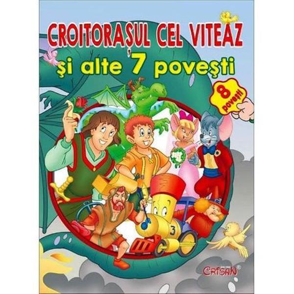Contine 8 povesti clasice mestesugit ilustrate si cu text usor de inteles de catre cei mici