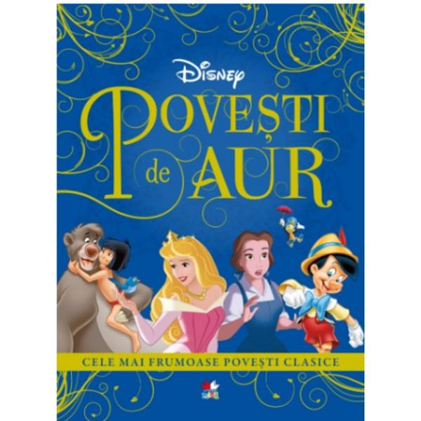 Deschide aceast&259; carte &351;i vei p&259;trunde &238;n universul magic al pove&351;tilor clasice &206;&539;i vei re&238;nt&226;lni eroii prefera&539;i din filmele Disney &537;i &238;i vei &238;nso&539;i &238;n minunatele lor aventuri