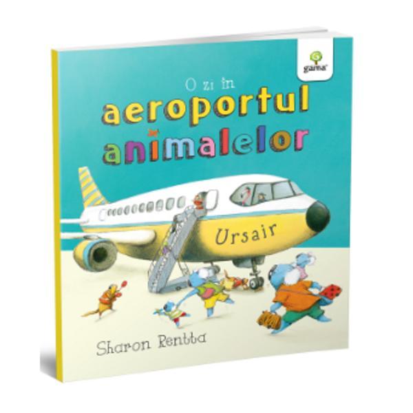 Familia Koala pleac&259; în vacan&539;&259; a&537;a c&259; au pornit spre aeroportul animalelor s&259; ia avionulSunt mult de descoperit de la Check-In la Controlul de Securitate &537;i din carling&259; pân&259; la caruselul pentru bagaje Dar cum vor reu&537;i oare copiii s&259; nu se plictiseasc&259; în timpul zboruluiSeriaO zi în lumea animalelor creat&259; &537;i ilustrat&259; de Sharon Rentta