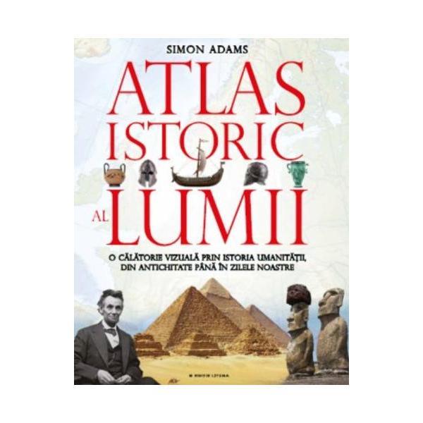 ISTORIA UMANIT&258;&538;II DE-A LUNGUL A PESTE 12 000 DE ANI- Descoper&259; lumea antic&259; a egiptenilor grecilor &537;i romanilor- Minuneaz&259;-te de cl&259;dirile imperiile cuceritorii &537;i culturile lumii medievale- Urmeaz&259;-i pe exploratorii &537;i f&259;uritorii de imperii din Rena&537;tere p&226;n&259; la Revolu&539;ia Francez&259;- Examineaz&259; lumea &238;n continu&259; schimbare a zilelor noastreCu peste 65 de h&259;r&539;i frumos ilustrate &537;i