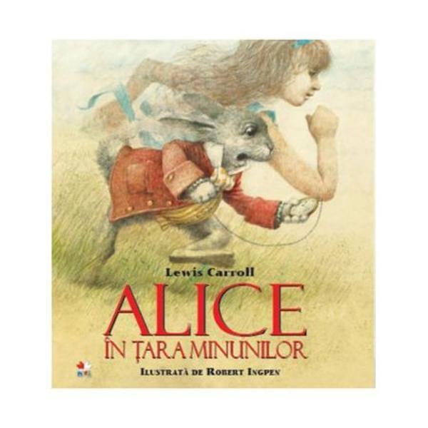 Alice fetita cu imaginatie nestavilita calatoreste in lumea fantastica a viselor unde totul este surprinzator Se intalneste cu creaturi ciudate care se comporta absurd si care o determina sa-si foloseasca curiozitatea pentru a ajunge la capatul calatoriei Spre deosebire de lumea reala care e coordonata de norme si de logica Tara Minunilor este o lume minunata in care orice este posibil