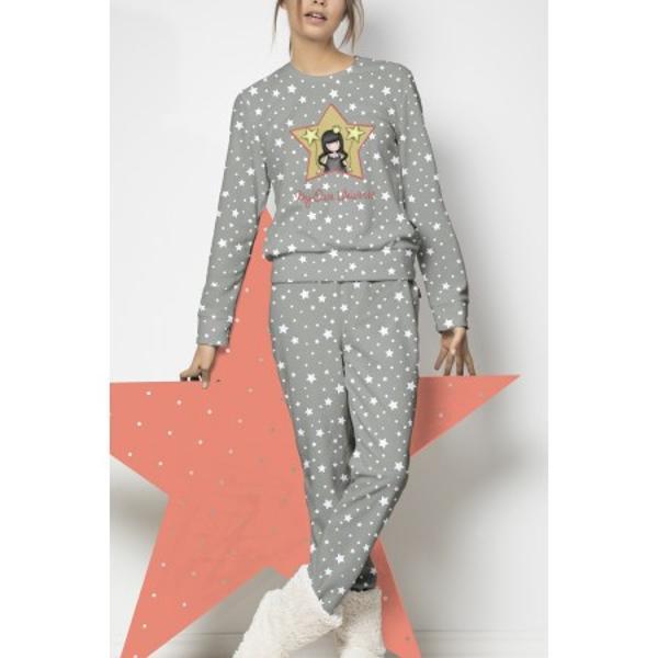 Pijama Copii GORJUSS-My own universeVarsta 8 aniPijama Copii GORJUSS-My own universe pijama pufoasa si calduroasa pentru cei mici Alege azi acesta pijama foarte cu o tesatura foarte moale la atingere Pijama copii Gorjuss My own universe este o pijama foarte calduroasa si este formata din doua componente care te trimit catre visareBluza de pijama este cu maneca lunga din material de