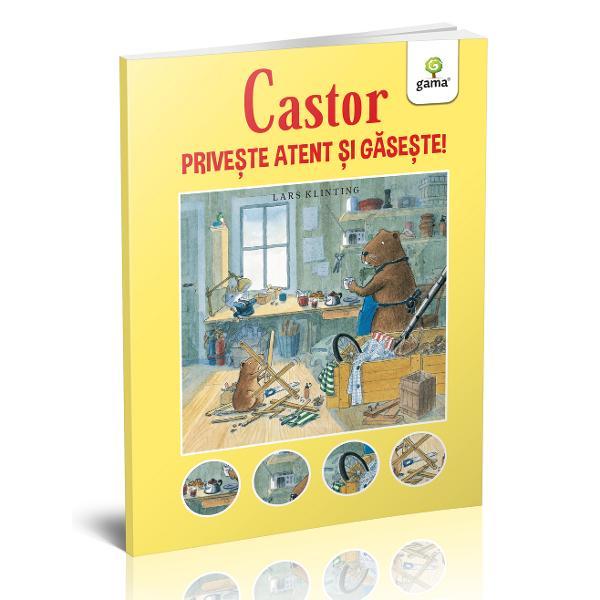 """Seria """"Castor"""" a fost imaginat&259; de Lars Klinting 1948-2006 scriitor &537;i ilustrator foarte îndr&259;git în Suedia Lars nu a studiat niciodat&259; arta În tinere&539;e a fost tâmplar apoi &537;i-a dorit s&259; predea dar &537;i s&259; scrie &537;i s&259; ilustreze pentru copii Aceast&259; carte de tip """"caut&259; &537;i g&259;se&537;te"""" dezvolt&259; aten&539;ia &537;i puterea de concentrare a copiilor care sunt"""