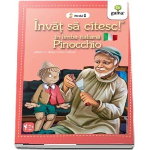 Pinocchio ISCII Invat sa citesc in limba italiana Nivelul I
