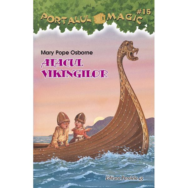 Seria PORTALUL MAGICExtrem de apreciate de p&259;rin&539;i de profesori dar mai ales de copii c&259;r&539;ile din seria Portalul magic ale celei mai populare autoare americane Mary Pope Osborne au realizat un lucru cu adev&259;rat magic i-au f&259;cut pe foarte mul&539;i copii &238;ntre &537;ase &537;i doisprezece ani s&259;&160;fie pasiona&539;i de lectur&259; &238;narip&226;ndu-le imagina&539;ia Tocmai de