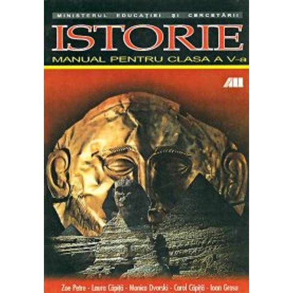 Istorie - manual V Zoe Petre