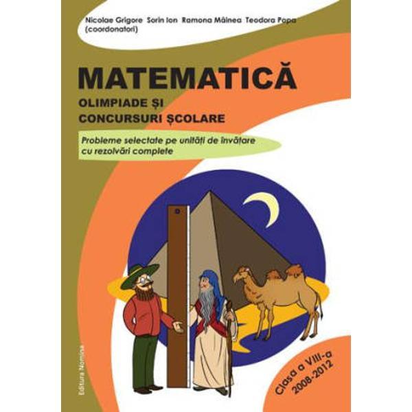 Matematica - Olimpiade si concursuri scolare clasa a VIII-a