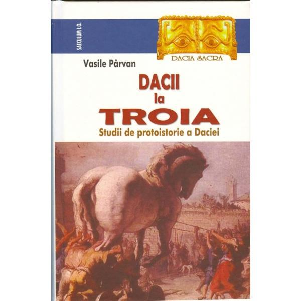 Incursiunile lui Vasile Parvan in protoistoria Daciei mileniul I i de Crhristos - desi au fost in parte corijate de descoperirile arheologice de dupa 1926 - au ramas puncte de pornire in recuperarea stiintifica a acestei perioadeVolumul de fata reuneste pentru prima data la un loc texte aparute in romana sau in alte limbi asupra trecutului nostru complementare Geticii gratie carora viziunea savantului despre daci se intregeste