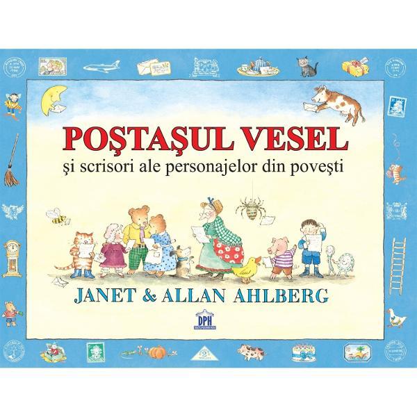 """Pentru to&539;i copiii din lumea întreag&259; de la """"incomparabilii autori Janet &537;i Allan Ahlberg"""" - The Times O carte minunat&259; plin&259; cu scrisori amuzante pe care s&259; le sco&539;i din plicuri &537;i s&259; le cite&537;ti Premii câ&537;tigate de cartea Po&537;ta&537;ul vesel The Children&39;s Book The EmilKurt Maschler The Kate Greenaway Medal PESTE CINCI MILIOANE DE EXEMPLARE VÂNDUTE"""