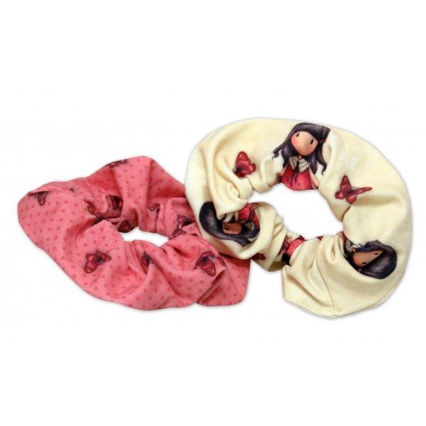 Gorjuss Set doua bentite elastice par - Time To Fly alege cele mai frumoase accesorii de par set doua bentite elastice par marca Gorjuss accesorii de calitate superiora cu iubitele personaje Gorjuss&160;