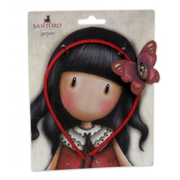 Gorjuss Bentita cu fluture - Time To Fly un accesoriu fashion pentru o mica domnisoara speciala Alege acum accesorii marca Gorjuss pentru fetita ta&160;