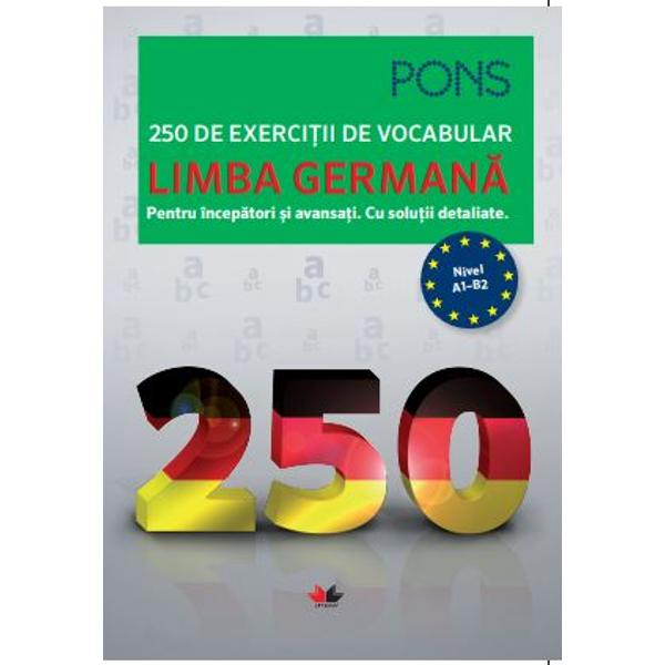 &206;mbog&259;&539;i&539;i-v&259; rapid &537;i eficient vocabularul- Prin intermediul celor 250 de exerci&539;ii exersa&539;i simplu aproape &238;n joac&259; toate categoriile lexicale importante&160;- Alege&539;i exerci&539;iile care se potrivesc pentru nivelul cuno&537;tin&539;elor dumneavoastr&259; de limb&259; german&259;&160;- &206;n partea de solu&539;ii detaliate g&259;si&539;i rapid rezolvarea corect&259; a exerci&539;iilor&160;- R&259;sfoi&539;i lista