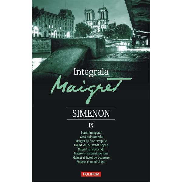 O serie integral&259; în 10 volume care con&355;ine nu mai pu&355;in de 75 de romane &351;i 28 de povestiri ce îl au ca protagonist pe unul dintre cei mai celebri detectivi &351;i totodat&259; unul dintre cele mai memorabile personaje ale literaturii franceze din secolul trecut comisarul Maigret