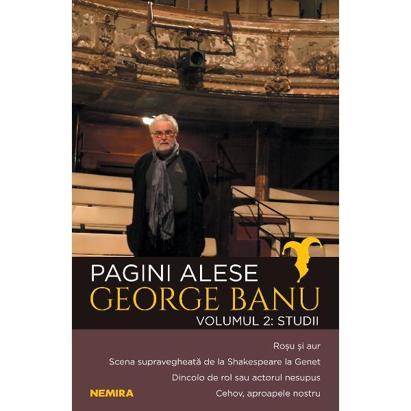 George Banu exploreaza acest spatiu mitologic care este teatrul &224; litalienne  loc de dialog intre scena si sala  in relatie cu ierarhia sociala  dar si de comuniune in contextul &8222;rosu si aur&8220;  emblema salilor europene Volumul reuneste studii consacrate &8222;supravegherii&8220; ca motiv din dramaturgia occidentala sau a lui Cehov  figura exemplara a unui teatru la rascruce de vremi Autorul schiteaza portrete de artisti si admira actori unici  care se exprima
