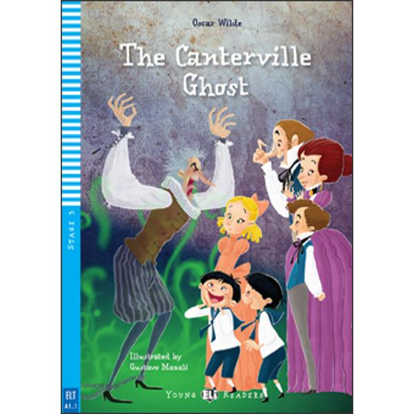 Do you believe in ghosts Well the Otis family didn't until they met the Canterville Ghost This is a story of life and death and love … of a ghost trapped in the present because of the bad thing he did in the past and how a young girl helps him to move on Tags The Supernatural  Human valuesTagsThe Supernatural  Human values In this Reader you will findGames and language activities  An audio recording of the story  A picture dictionarybr