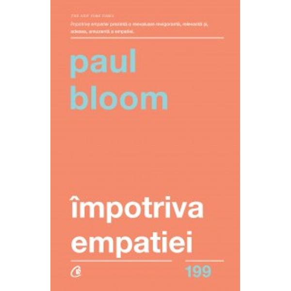 Paul Bloom este un renumit cercet&259;tor &238;n domeniul &537;tiin&539;elor cognitive A publicat numeroase studii &238;n care a &238;ncercat s&259; afle cum func&539;ioneaz&259; moralitatea de la stadiul