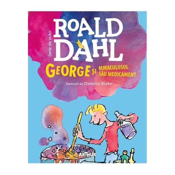 Într-o zi George r&259;mâne singur acas&259; cu bunica lui o zgrip&539;uroaic&259; îngrozitoare care nu-i zâmbe&537;te &537;i nu se joac&259; niciodat&259; cu el A&537;a îi vine ideea s&259; fac&259; un medicament miraculos care s-o transforme pe bunica rea într-una bun&259;Ori a gre&537;it George dozajul ori n-a nimerit ingredientele