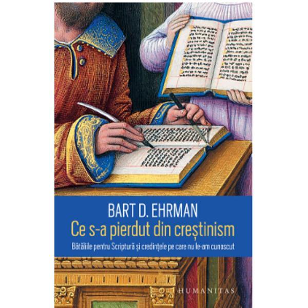 """Traducere de Cornelia Dumitru""""O cartografiere a întregului spectru teologic al cre&537;tinismului vechi ar necesita numeroase volume dar prin cartea lui Ehrman putem str&259;¬bate câteva dintre cele mai uluitoare c&259;i pe care cre&537;tinismul nu a mers -Time Magazine""""O foarte solid&259; &537;i savant&259; istorie a falsurilor a c&259;r&539;ilor arse a feudelor doctrinare &537;i a altor episoade care au marcat crearea"""