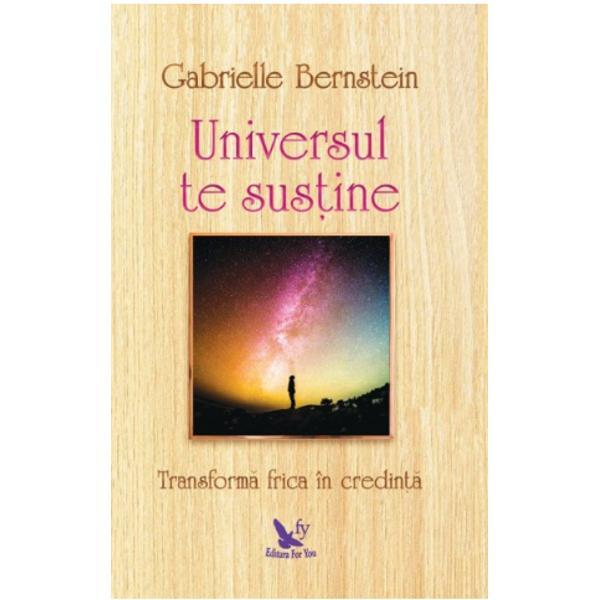 Accept&259; las&259;-te în seama Universului &537;i dedic&259;-te f&259;r&259; grij&259; evolu&539;iei tale spiritualeA&537;a a procedat Gabrielle Bernstein autoare de bestselleruriNew York Times&537;i vorbitoare motiva&539;ional&259; de anvergur&259; interna&539;ional&259; Afl&259; din cartea eiUniversul te sus&539;inecum &537;i-a transformat frica în credin&539;&259; &537;i