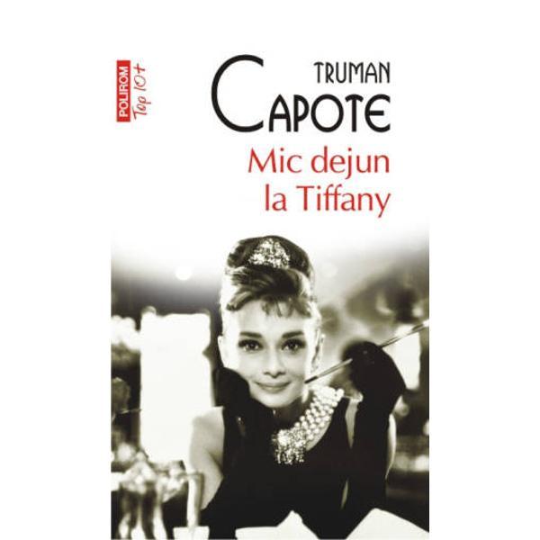 Cartea a cunoscut o ecranizare celebra in 1961 cu Audrey Hepburn in rolul principal   Mic dejun la Tiffany este povestea unui scriitor care isi aminteste ca a cunoscut-o in urma cu cincisprezece ani pe cind locuia intr-un vechi apartament din New York pe Holly Golightly In scurt timp scriitorul si tinara cu apucaturi stranii pe a carei carte de vizita era scris calatoare  devin prieteni apropiati Dupa cincisprezece ani o cunostinta comuna ii arata scriitorului citeva fotografii cu un